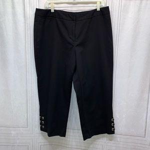 Rafaella Capris Pants Plus Size 14